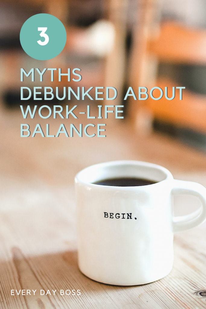 I'd love to tell you there's a magic formula to have a perfect work-life balance, that's not true. To clear the air, we thought it would be fun to put together a few myths and tricks to strive for what you're actually looking for instead in this post!